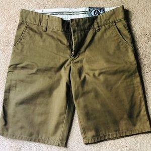 Volcom Shorts - Brown Bermuda Shorts